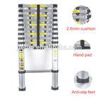 Adjustable aluminum telescopic ladder