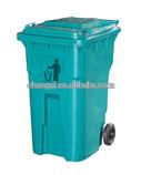 240L Outdoor Waste Bin with Wheel