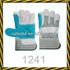 cow split leather reinforced palm leather safety gloves