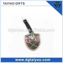 High quality Customized metal golf bag tags for golf club