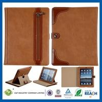 2014 Latest Cheap for ipad air folding pu leather case