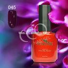 Charming gel polish nail / glitter nail gel polish /factory UV gel nails NO.045