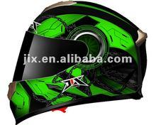 2014 full face dual visor motorcylce helmet JX-FF005