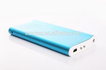2600MAH hot sale Aluminium universal portable cell phone charger