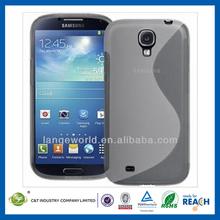 High-quality customize minion frame bumper protect case for samsung i9500 galaxy s4 tpu skin case