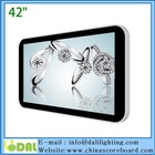High quality 42 inch wall mount digital lcd 15
