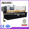 QC12K CNC Hydraulic Shearing Machine , 8X4000 Steel CNC Shearing Machine , DELEM DAC-310 Metal Sheet Shearing Machine
