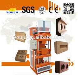 LY1-10 intelocking ecological brick machine soil cement