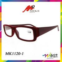 2014 new style glasses frames fashion design optics reading glasses with velvet plush