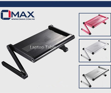 OMAX Variety shape work station Laptop Desk with 264 cooling holes pad
