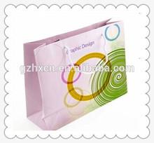 Graphic design paper shopping bag for artwork