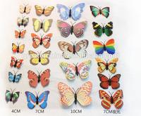Wholesale & hot sale emulational butterfly pvc fridge magnet