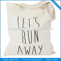 canvas tote bag blank cotton bag