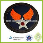 china factory custom logo leather label kid jean