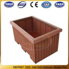 2014 Coowin UV-resistance outdoor wpc flower pot