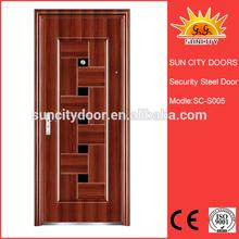 Manufacture Production Decorative American Steel Doors SC-S005