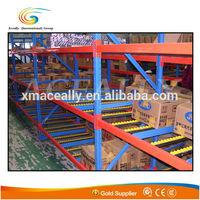 warehouse pallet sliding rack system