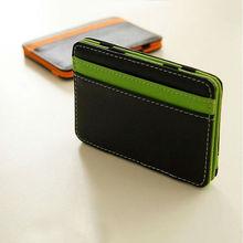 Hot Sale Fashion Men's Money Clip leather Magic Wallet