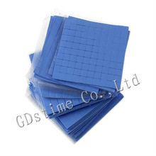 Pink Blue 1mm 1.5mm 2mm 3mm Insulation Conductive Pad Thermal Silicone Pad For Cooler