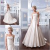 SUN-412 China Supplier Ball Gown Strapless Taffeta Wedding Dress Fabric