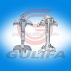 aluminium alloy suspension clamp for twin conductors