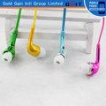 el más reciente de la moda de colores de manos libres para samsung s5 auriculares con alta calidad