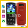 2.2 inch X2-02 Red, 2.2 inch Low Cost Touch Screen Mobile Phone with Bluetooth FM function, Dual band, Network: GSM900/1800MHZ