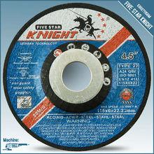 """4.5"""" 115X6X22MM belt grinding wheel with MPA EN12413"""