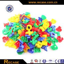 Children plastic building blocks, Kids study letter games