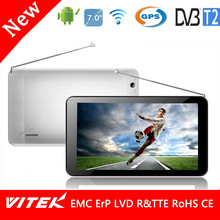 Dual Core 7'' DVB-T2 TV Tablet with GPS