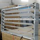 wanjia factory wholesale aluminum jalousie window frame