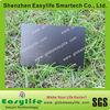 High standard matt black metal business card