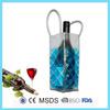 Cheap wine reusable blue gel bottle cooler sleeve