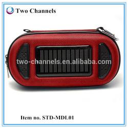 Motorcycle Solar Powered Portable MP3 Speaker Bag (W)