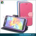 Ebay çin cüzdan tasarım deri çanta samsung s 5, telefon kılıfı s5