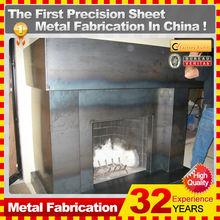 Kindle custom indoor fireplace gas fireplace