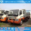 Factory selling RHD or LHD 3-5Tons dump truck tipper truck self-discharge truck