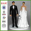 Personalized resin Bride and Groom figurine
