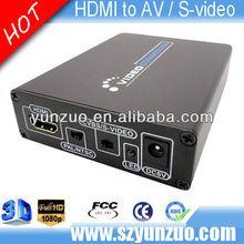 Shenzhen Factory 1080P HDMI to composite RCA /S-video converter