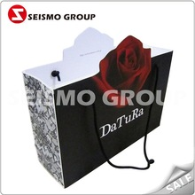 brand paper shopping bag paper bag gift thank you
