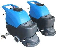 GM50B battery powered popular hand push mini floor sweeper scrubber