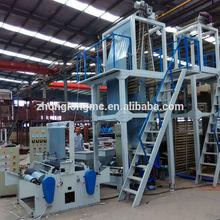 Plastic extrusion film and bag making machine