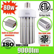 Super bright led e40 80w corn light with 2014 newest design for sale