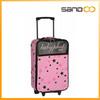 BSCI Walmart factory cutec cheap kids travel trolley bag
