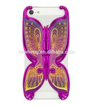 2014 Bling Diamond Dot Butterfly Case for iPhone5 5S