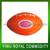 OEM Logo Imprint PU Stress Foam Mini Rugby Ball