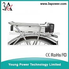 200W 36V 8AH electric folding bike lithium battery packs reak carrier