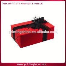 metallic paper cosmetics packing box