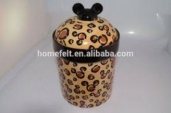 modern cartoon dog bowl