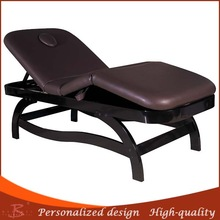 2014 hot cheapest elegance wood portable acupuncture bed wooden beauty table retailers
